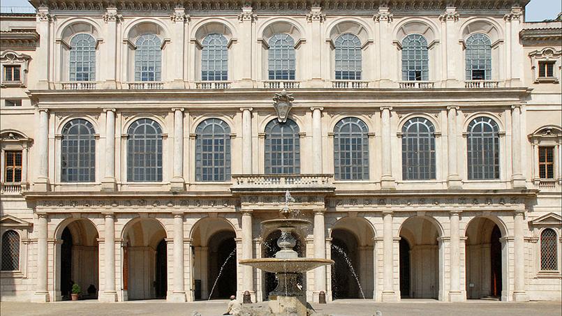 Palazzo Barberini, Jean-Pierre Dalbéra CC BY 2.0 license