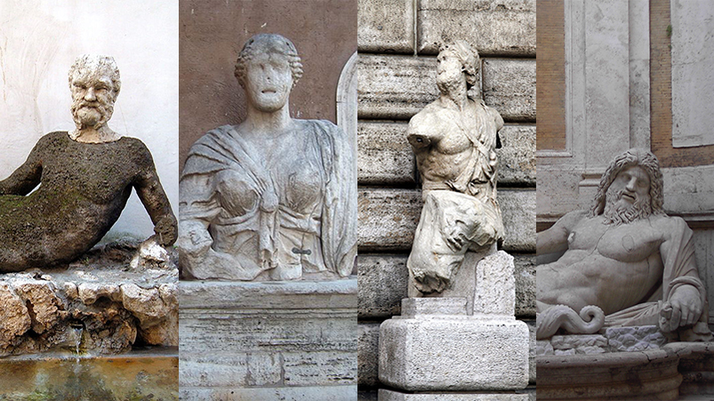 Pasquino Babuino and other talking statues