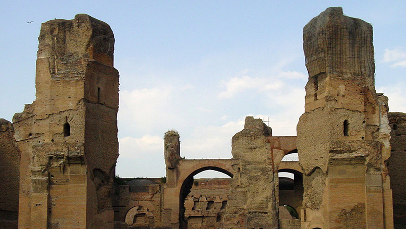 Baths of Caracalla Rome guided tours