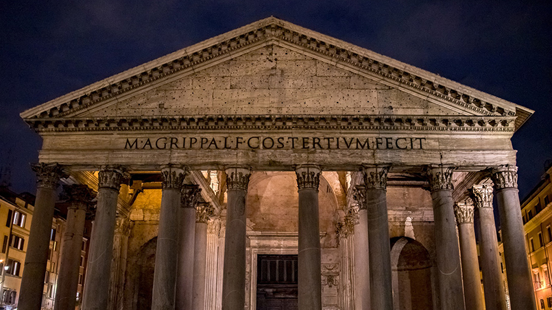 Entry to the Pantheon will remain free of charge
