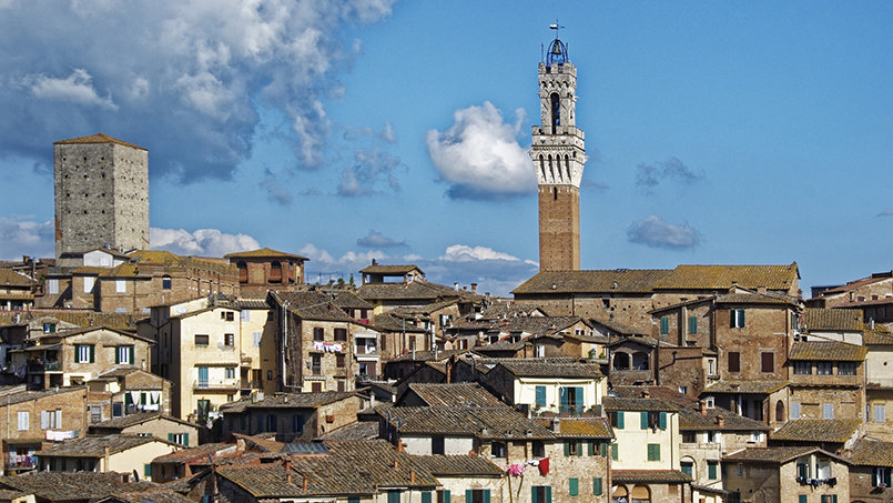 Siena daytrip destination From Home to Rome