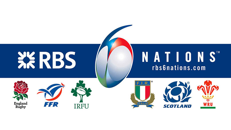 Teams participating in the 6 Nations 2019