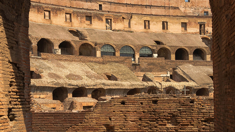 The Colosseum From Home to Rome rental apartments holiday homes