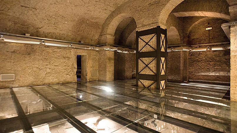 Palazzo Valentini Roman Houses underground visit
