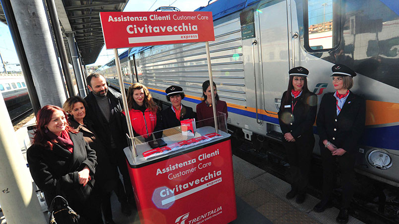 Civitavecchia Express new train service for cruise travelers
