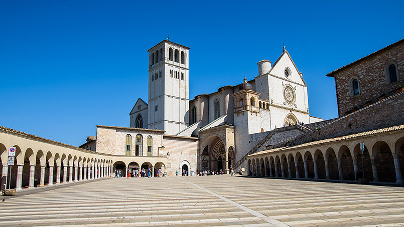 Basilica Assisi daytrip from Rome