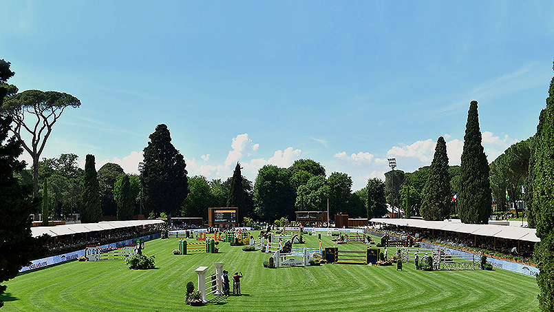 International Horse Show Piazza di Siena Free tickets