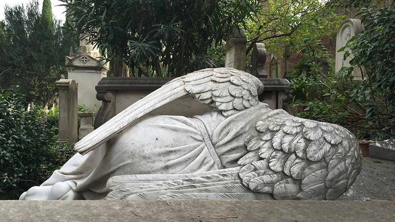 the Non Catholic Cemetery of Rome