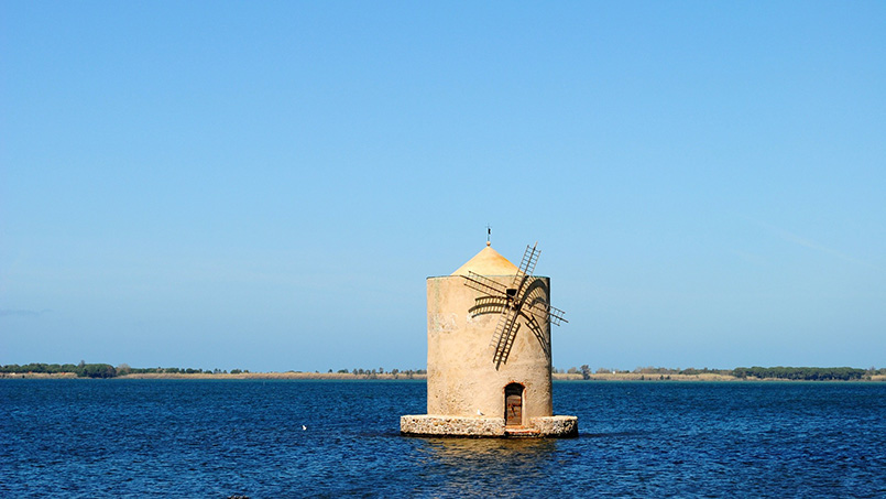 Orbetello Lagoon daytrip from Rome Italy