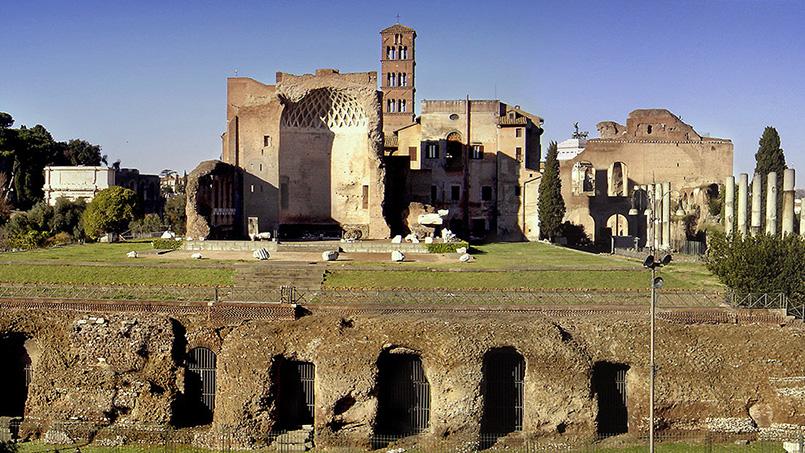 Temple of Venus Roman Forum Italy