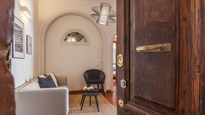 Via Natale del Grande rental accommodation Trastevere Rome