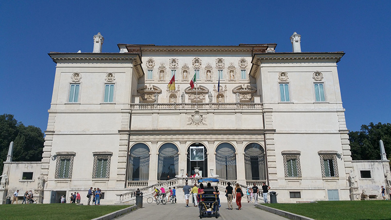 Borghese Gallery museum in Rome, Italy