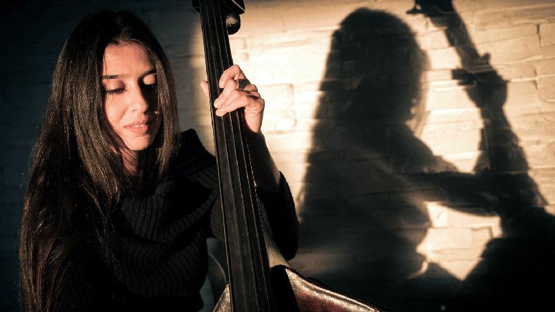 Federica Michisanti jazz musician Rome 2019