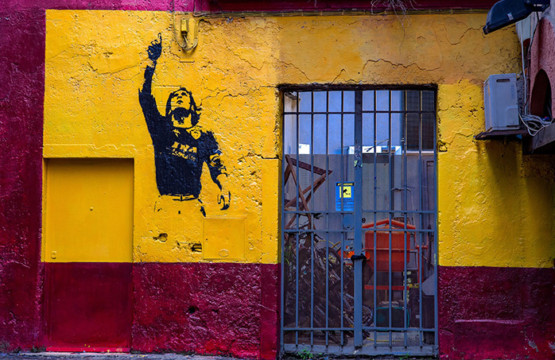 Francesco Totti Graffiti Rome Italy