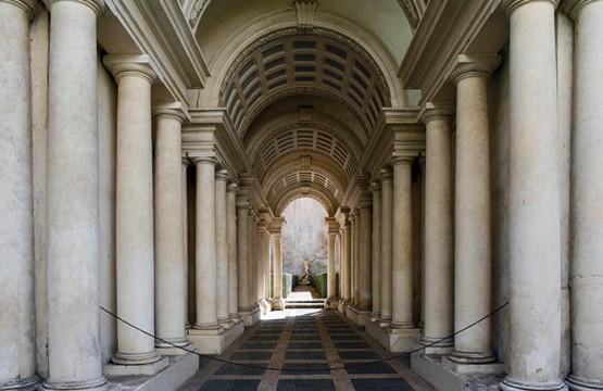 Galleria spada museum in Rome