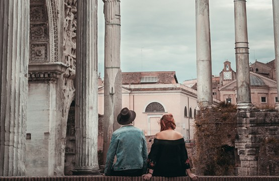 Roman Forum romantic locations in Rome