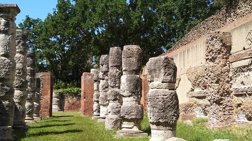The ancient Roman port of Portus - off the beaten path in Rome - From Home to Rome