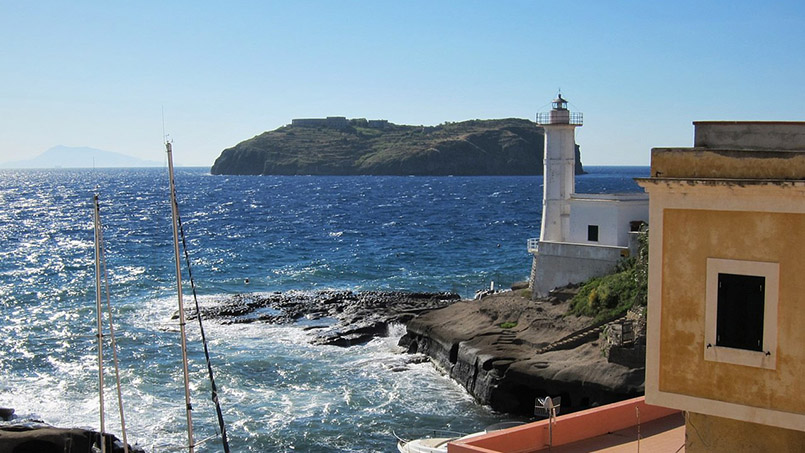Ventotene day trip destination blue flag 2021 - From Home to Rome